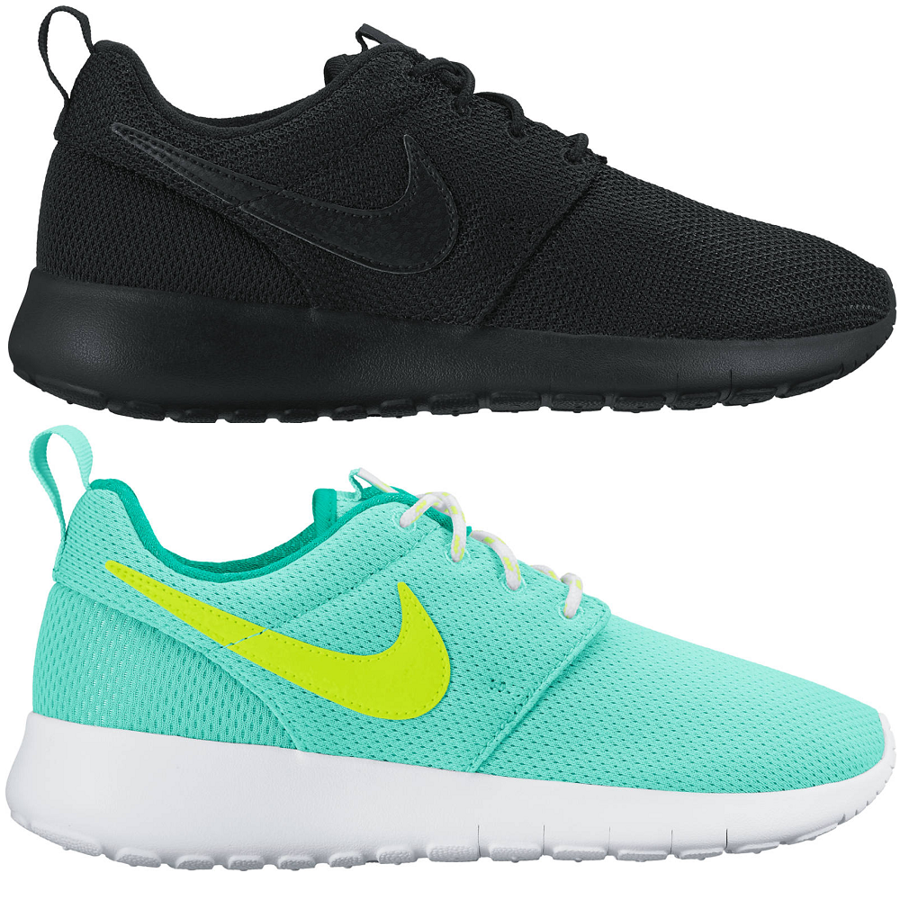 NIKE Roshe One Rosheone (GS) Sneaker Different Colors, EU Shoe Size:EUR 38, Color Blue