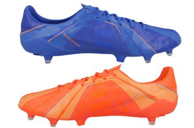 Puma Evospeed SL Superlight Head To Head FG Fussballschuhe orange/blau – Bild 2