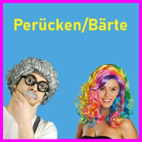 Perücken/Bärte