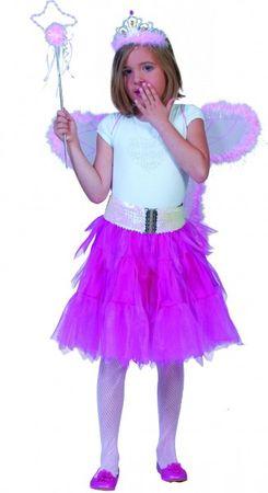 Kostüm Petticoat Tüllrock Tutu Tütü neon grün oder pink Rock Karneval Fasching – Bild 2