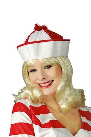 Mütze Matrose Bobby Schiffsjunge Matrosenmütze Seemann Karneval Fasching – Bild 3
