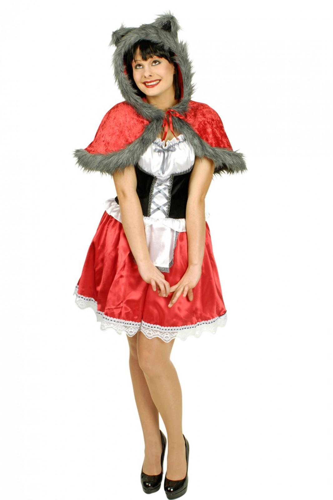 Susses Kostum Rotkappchen M Wolfspelz Gr 36 46 Marchen Karneval