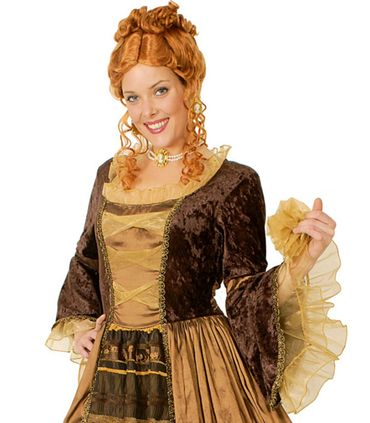 Kostüm Lady Anne Barock Rokoko Maskenball Barockkleid m Reifrock Fasching – Bild 2
