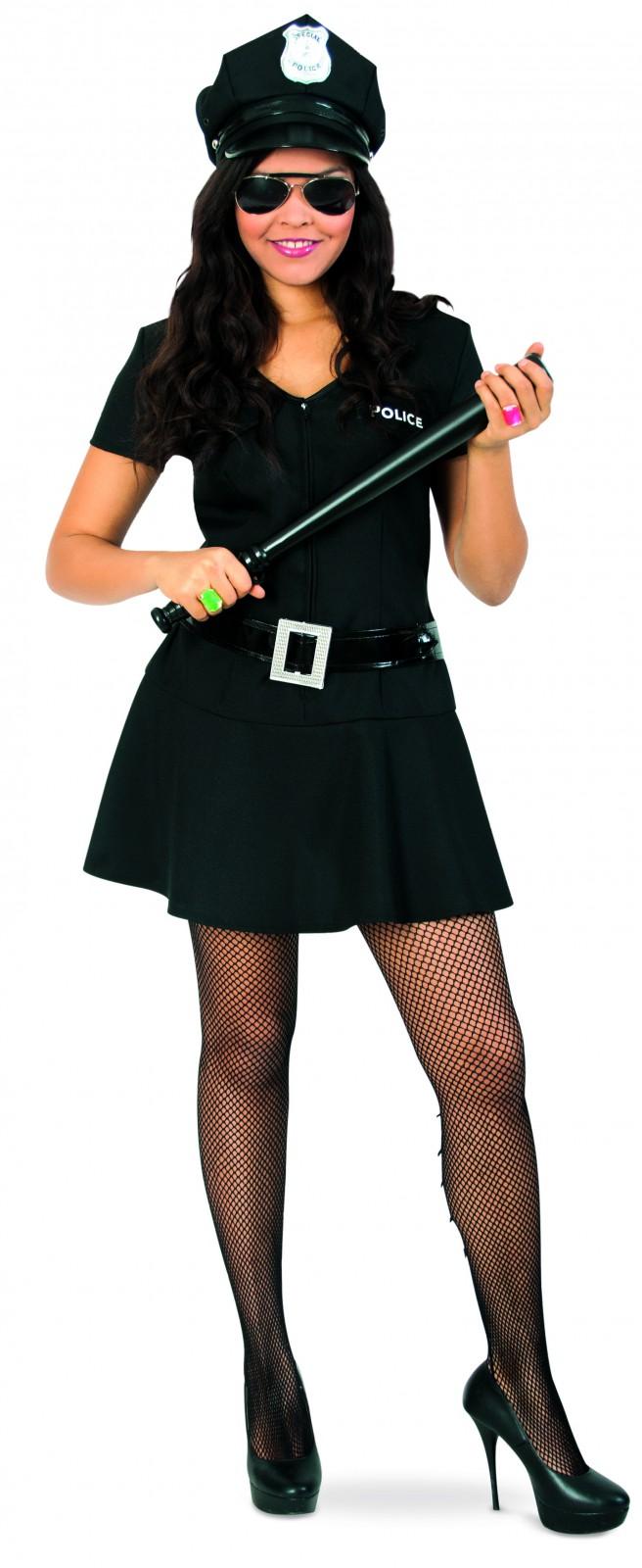 Kostum Polizistin Sexy Police Girl Polizei Gr 152 164 Karneval