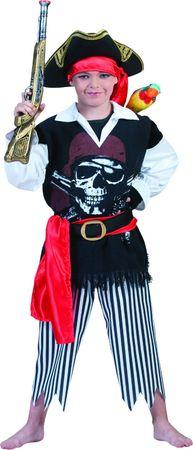Kostüm Pirat Piratin Jungen Mädchen Piratenkostüm Kinder Karneval Fasching – Bild 3