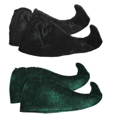 Kostüm Accessoires Schuhe f Weihnachtself Elf Gaukler Harlekin Karneval Fasching – Bild 3