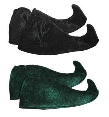Kostüm Accessoires Schuhe f Weihnachtself Elf Gaukler Harlekin Karneval Fasching – Bild 1
