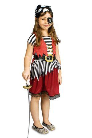 Mädchen Kostüm Piratin Jenny Seeräuberin Piratenkostüm Pirat Karneval Fasching – Bild 1