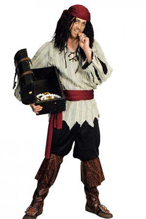 Kostüm Geister Pirat Piratin Lumpenpirat Piratenkostüm Karneval Halloween NEU – Bild 2