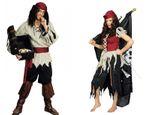 Kostüm Geister Pirat Piratin Lumpenpirat Piratenkostüm Damen Herren Karneval