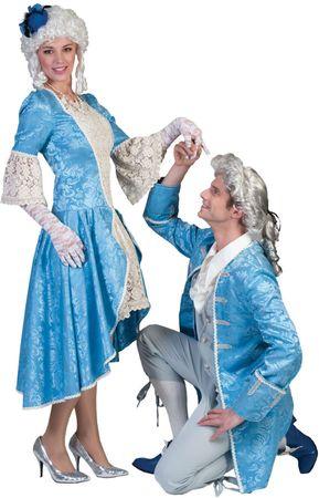 Kostüm Barock Damen Herren Barockkostüm Prinzessin Prinz Kostümball Fasching – Bild 1