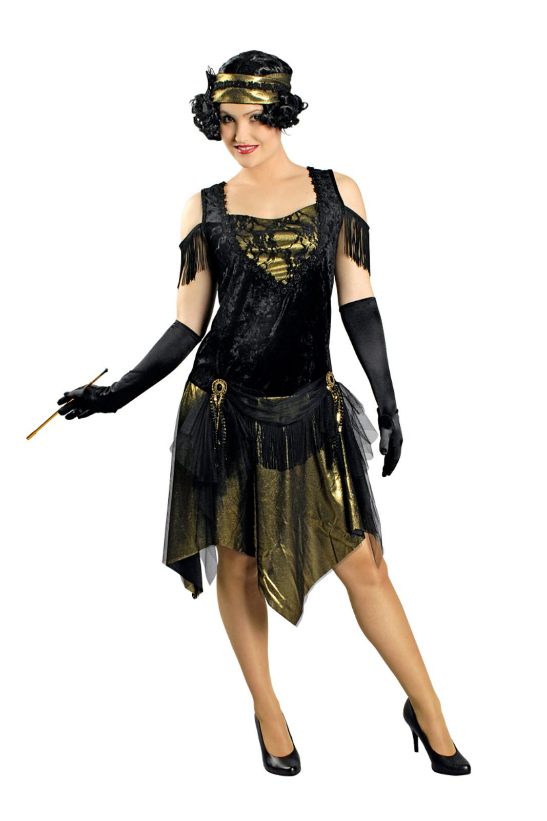Kostüm Charleston Kleid Swingtime 18er Jahre Jazz Flapper Gatsby Gr.18-18  Krimi  Internerkarneval Webshop