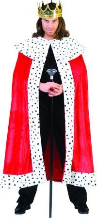Toller Königsumhang König Kostüm King Arthur Königsmantel Robe Fasching Karneval – Bild 1