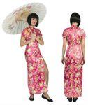 Chinesin Kostüm Damen Geisha Kleid Japanerin Asiatin Gr.36-46 Karneval Fasching 001