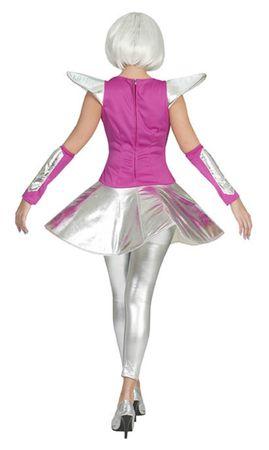 Damen Kostüm Spacy Tina Space Raumschiff Weltraum Gr.36-46 Karneval Fasching – Bild 3