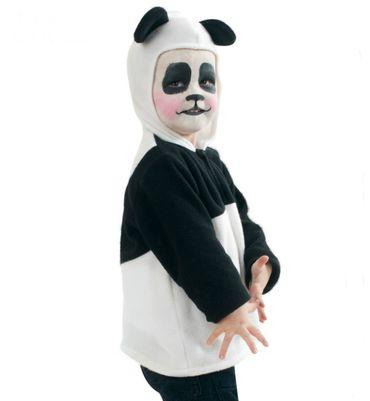 Panda Kostüm Kinder Pandabär Pandakostüm Kinderkostüm Gr 92 98 Fasching Karneval – Bild 1