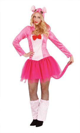 tolles Kostüm Kleid Panter Panther Panterkleid pinkes Kleid Karneval Fasching – Bild 1