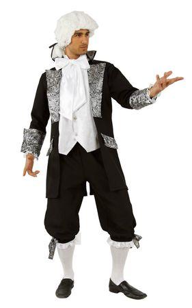Kostüm Barock Rokoko Gehrock m. Hose Barockkostüm Herren Edel Pirat Fasching – Bild 1