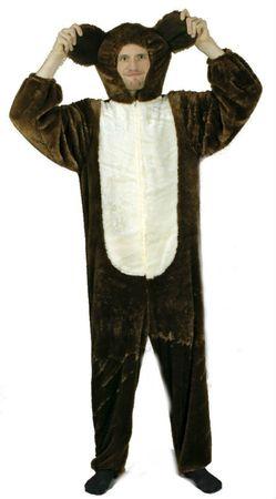 Kostüm Plüschoverall Bären Bärenkostüm Tierkostüm Damen Herren Karneval Fasching – Bild 3