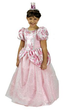 excl. Kostüm Prinzessin mit Reifrock Prinzessinkleid Gr.98-152 Kinder Fasching – Bild 1