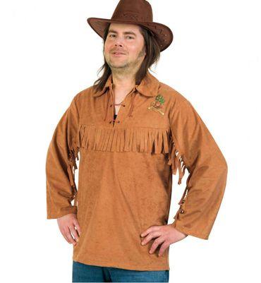 Kostüm Cowboy Hemd Cowboyhemd Western Wilder Westen Gr.50-54 Karneval Fasching – Bild 1