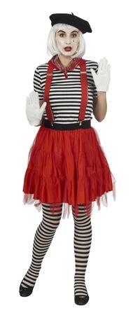 Kostüm roter Tüllrock Petticoat rot Tutu Tütü 47 cm Karneval Halloween  – Bild 3