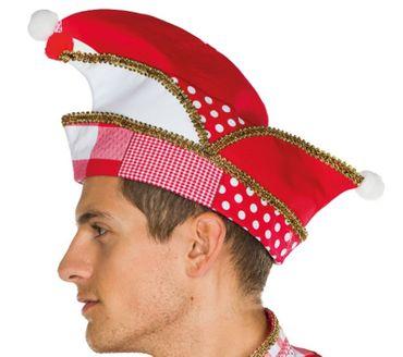 rot/weiße Narrenkappe Karnevalsmütze Köln Mütze Komiteemütze Karneval Fasching – Bild 3