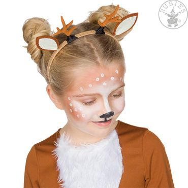 Rehkitz Haarreif Kinder Reh Tierhaarreif Zoo Karneval Fasching – Bild 3