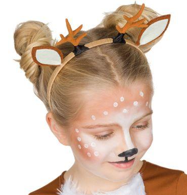 Rehkitz Haarreif Kinder Reh Tierhaarreif Zoo Karneval Fasching – Bild 1