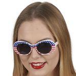 USA Brille Miss America Amerika Karneval Fasching