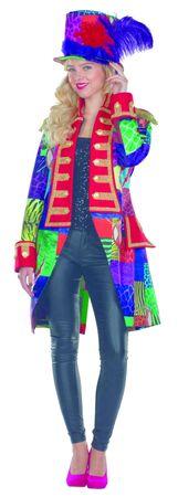Kostüm Multi-Patch bunte Jacke Frack Zirkus Patchworkjacke Karneval Damen Herren – Bild 2