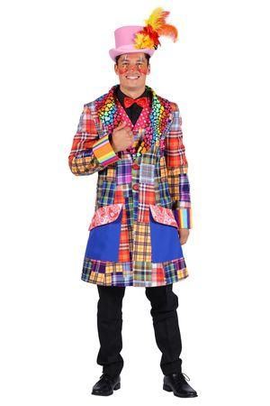 excl. Clown Frack bunte Jacke Clownkostüm Damen Herren Clownjacke Zirkus Variete – Bild 5