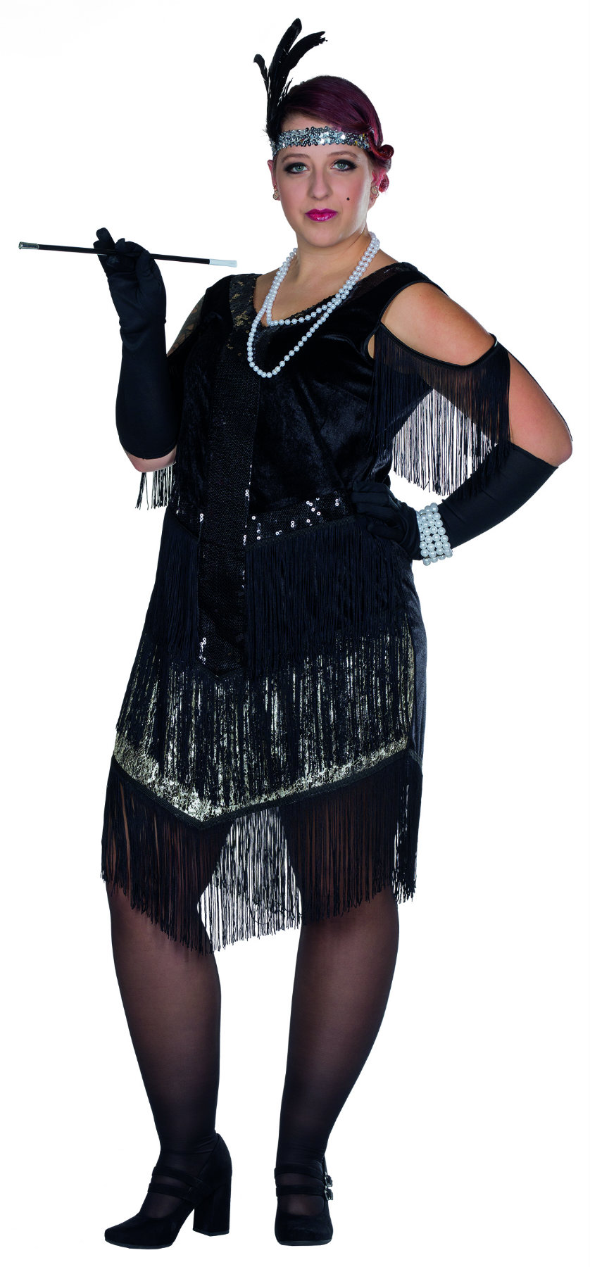 kostüm charleston kleid 20er jahre flapper krimi große größen karneval  silvester | ebay