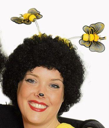 Haarreif Biene Bienchen supersüß Bienenhaarreif Karneval Fasching NEU