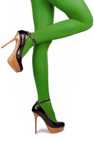 Nylonstrumpfhose Strumpfhose 70DEN Gr.L-XL div. Farben Damenstrumpfhose Karneval – Bild 5