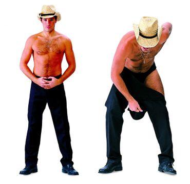 Kostüm Strip-Hose Stripper Striphose Herren Gr.48-56 Männerballett JGA Auftritt – Bild 1