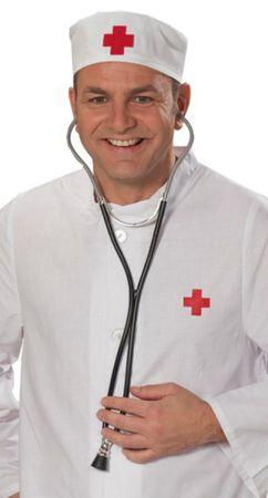 Stethoskop Accessoires Arzt Chirurg Krankenschwester Doktor Karneval – Bild 1