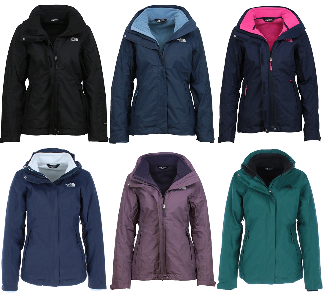 online retailer 8618f 8d5ce Details about The North Face Women's Winter Jacket Evolution 2 Triclimate