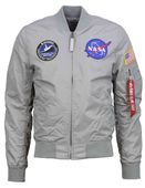 Alpha Industries Herren Bomberjacke MA-1 TT NASA Reversible II