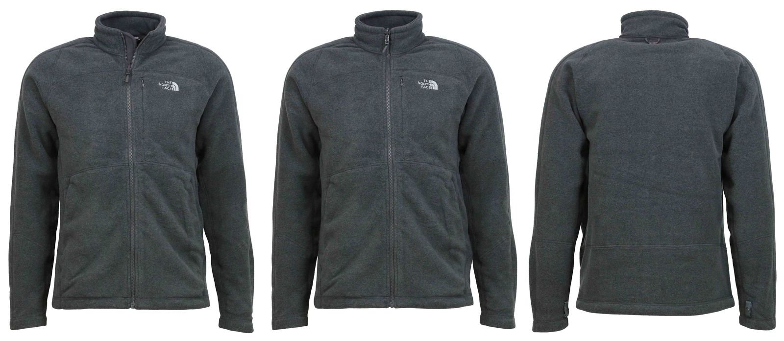 brand new 9295b a9d72 The North Face M 200 Shadow Full Zip Herren Fleece-Jacke