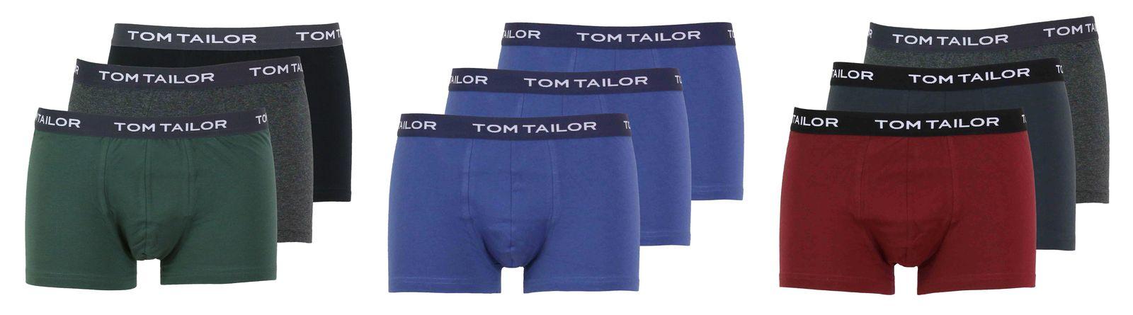 eb9835ae43bb79 Details zu Tom Tailor Herren 3er Pack Boxershorts