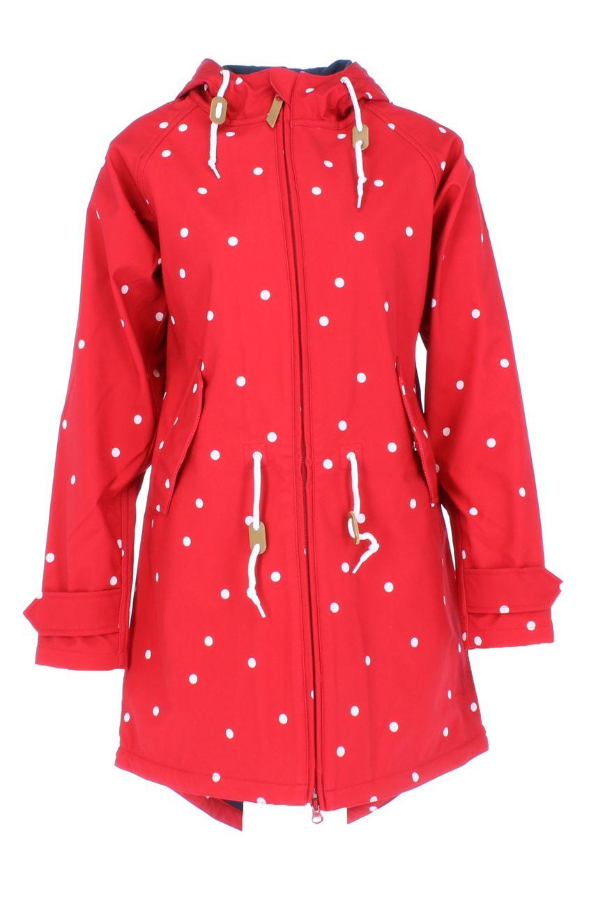 Details about Derbe Hamburg Island Friese Dots Women's Jacket