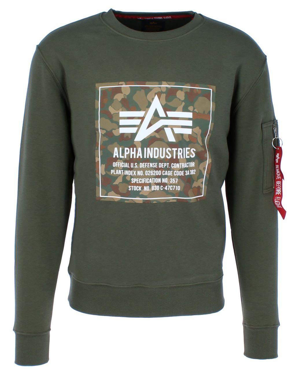 Alpha Industries Sweatshirt »Camo Block Sweater«   OTTO