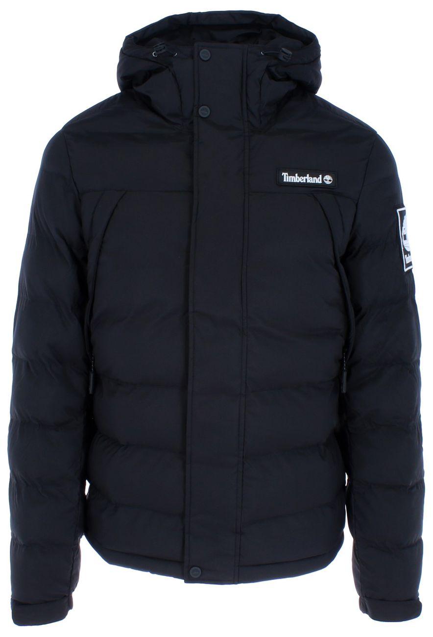 Timberland – Schwarze Puffer Jacke