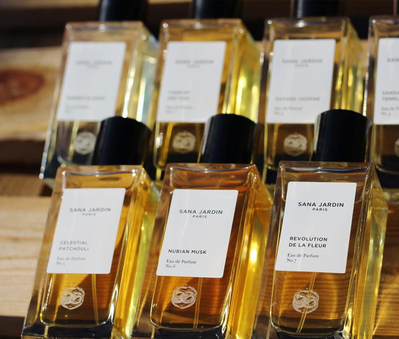 Parfums der Marke Sana Jardin auf Das Parfum & Beauty