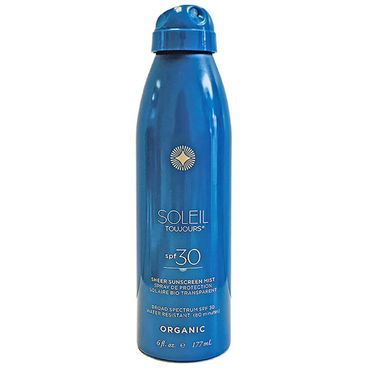 Organic Sheer Sunscreen Mist- LSF 30