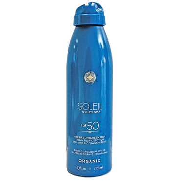 Organic Sheer Sunscreen Mist-LSF 50