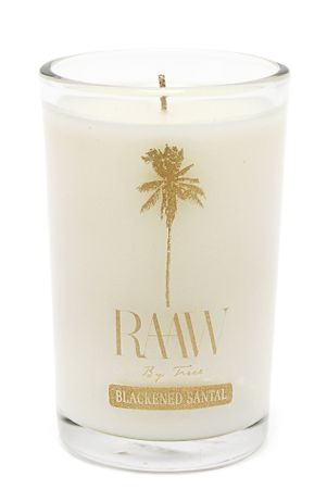 Blackened Santal Candle