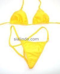 SiaLinda Bikini  Rio , gelb/yellow - Größe L