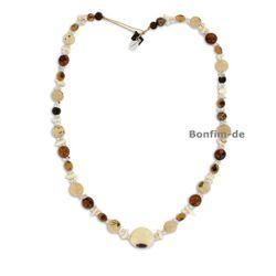Halskette aus Acai, Paxiubao, Bergkristall, Vassourinha, Jarina, original Sambaia